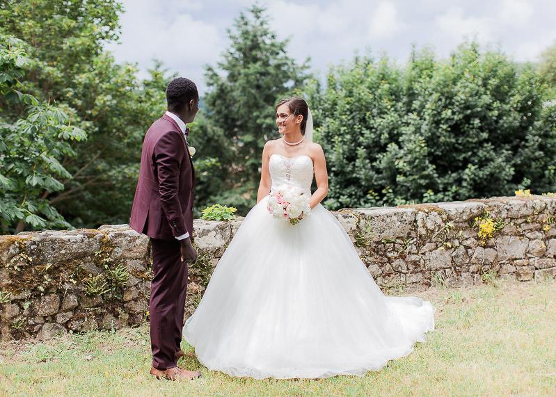 Les mariés au chateau de gourdan