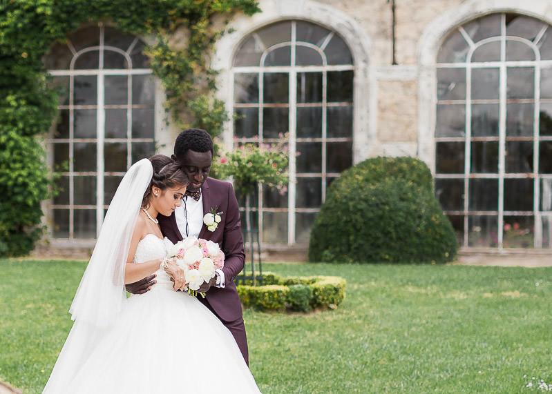 mariage chateau gourdan
