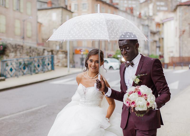 mariage pluvieux gourdan
