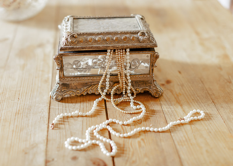 Boite à bijoux mariage