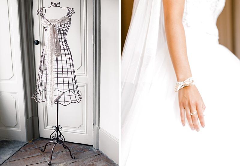 Détail bracelet mariée