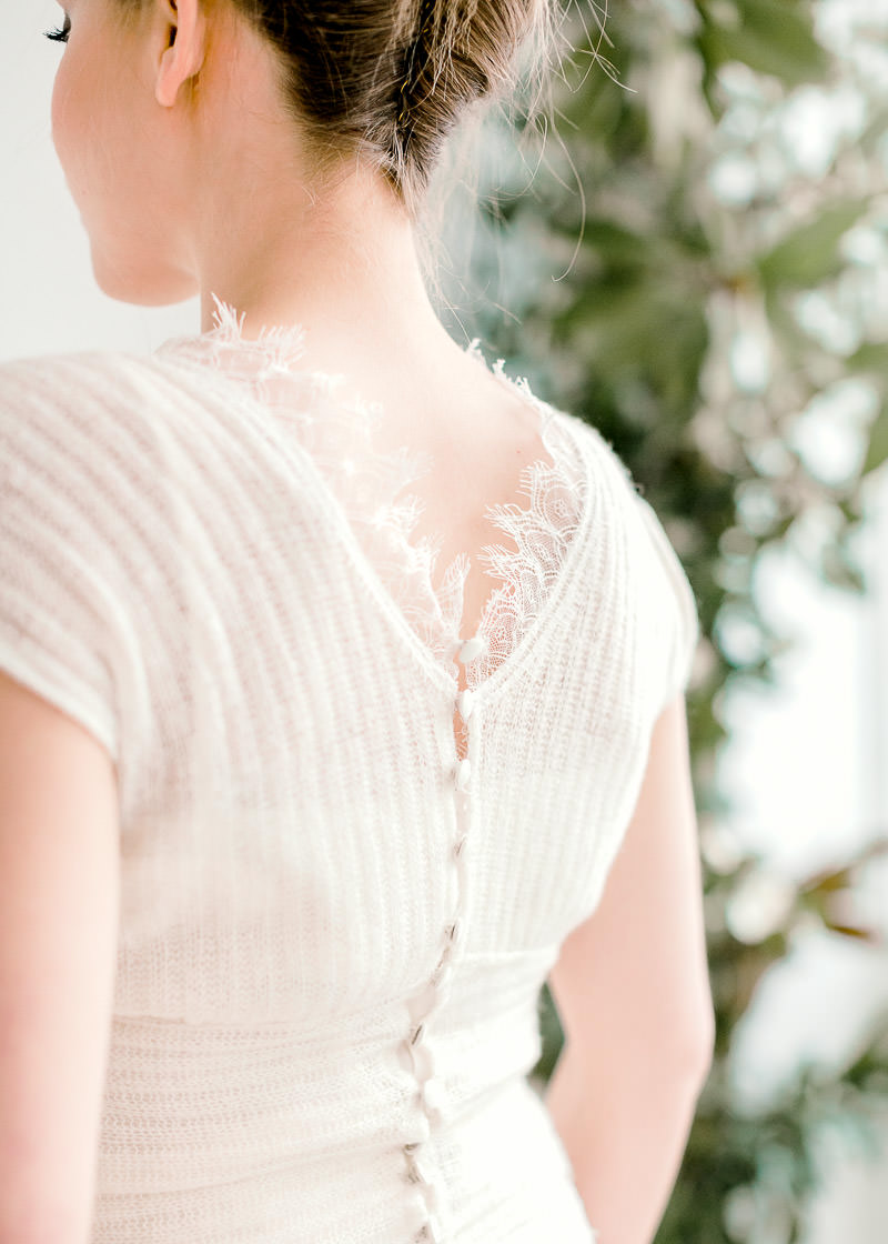 Dos nu robe mariée