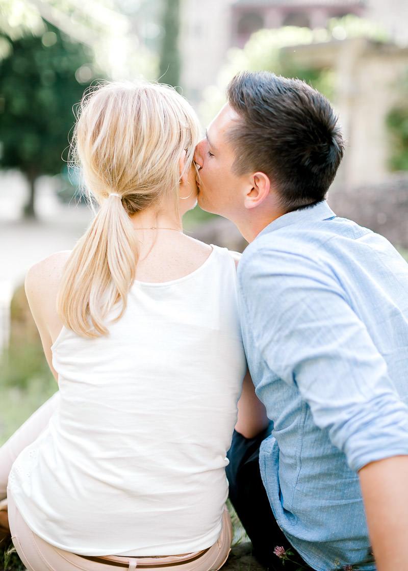Photographie Fine Art d'un couple d'amoureux à Lyon