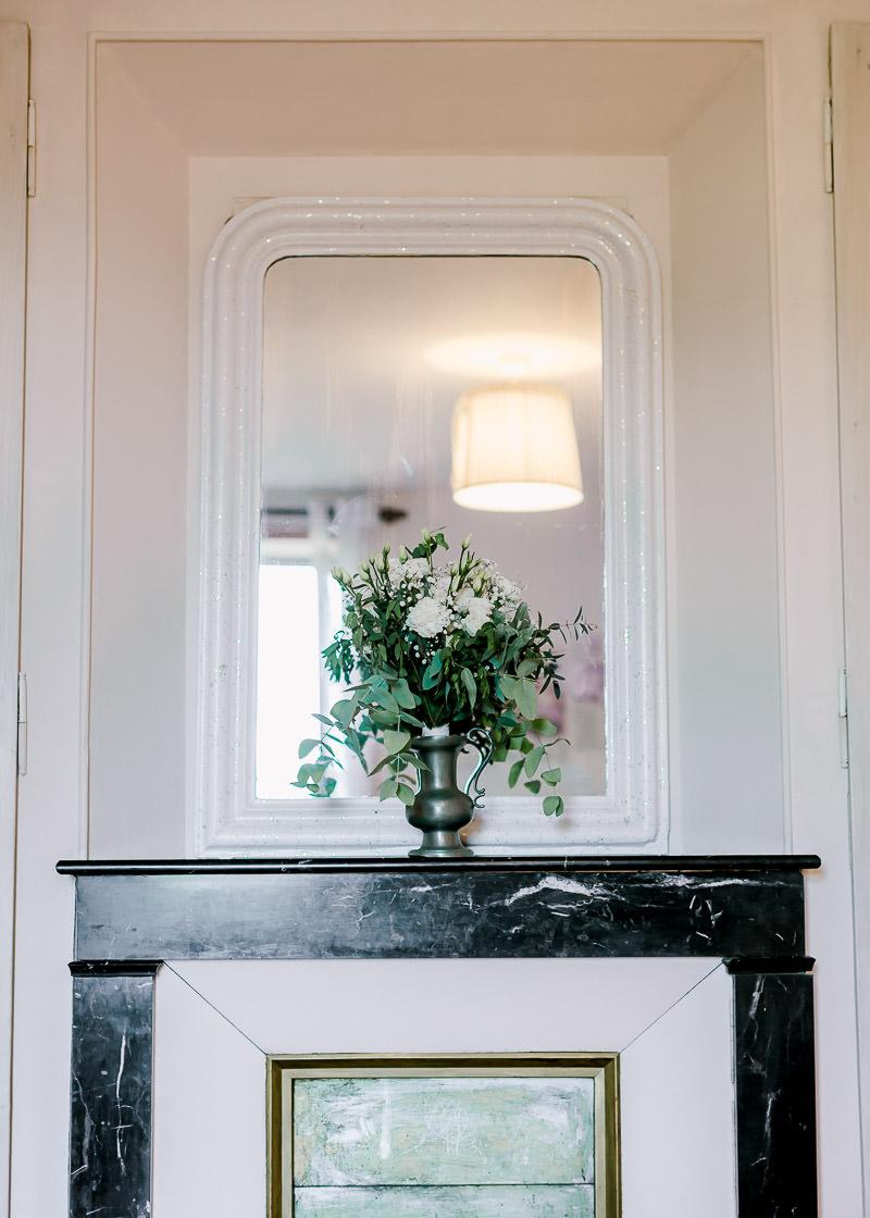 Mariage au domaine de la Genetière photographe Lyon bouquet