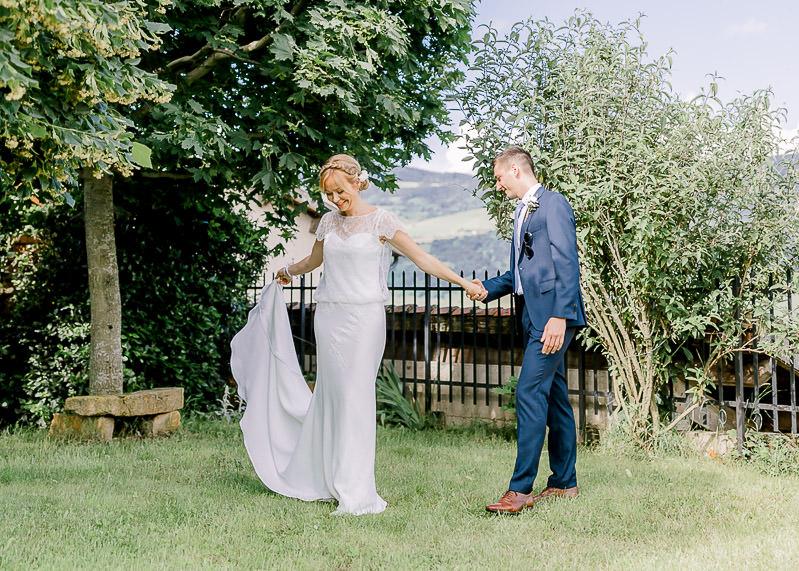 Découverte du marié et de la mariée