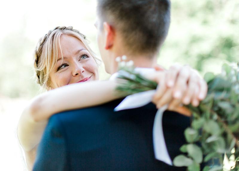 Jolie mariée dans le beaujolais photographe à Lyon et en Rhône-Alpes