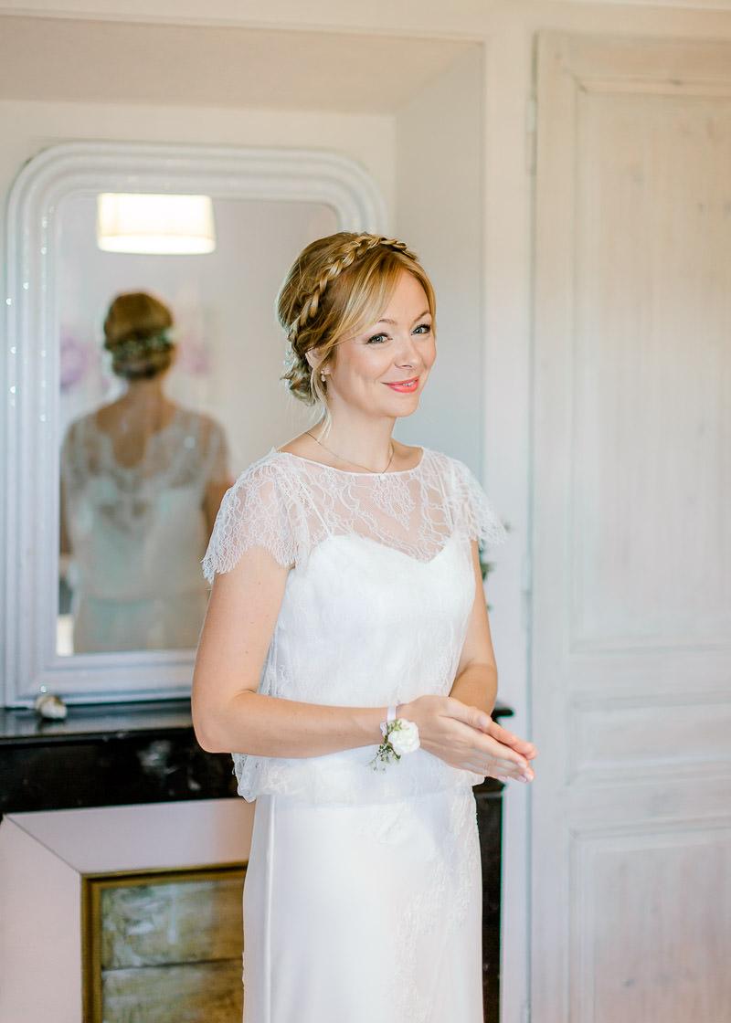 Mariage dans le Beaujolais préparatifs photographe à Lyon