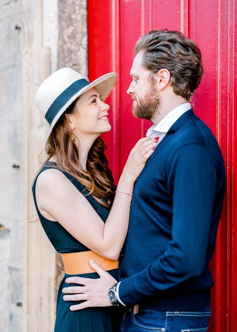 Joli couple photographe de mariage Lyon