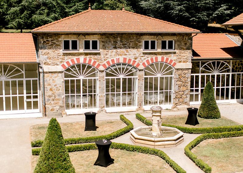 orangerie chateau des gaudras