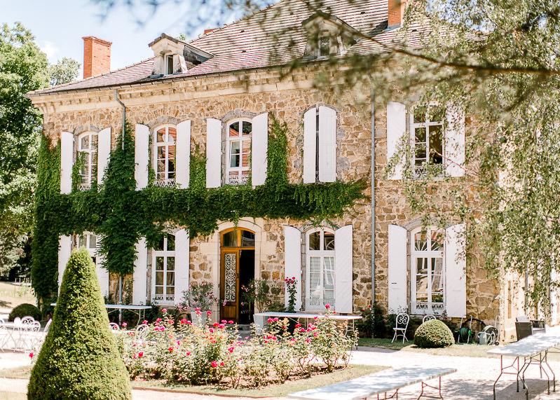 façade des appartements du château des gaudras