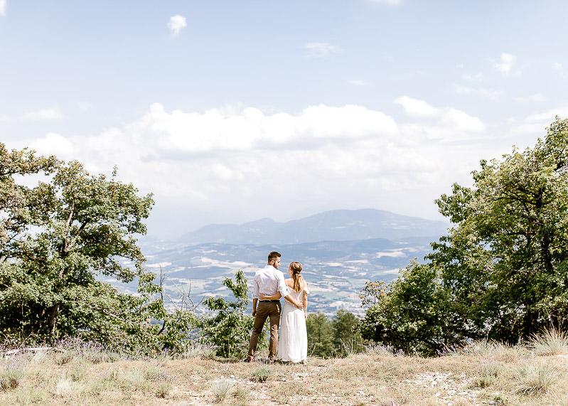 Séance photo couple en Provence