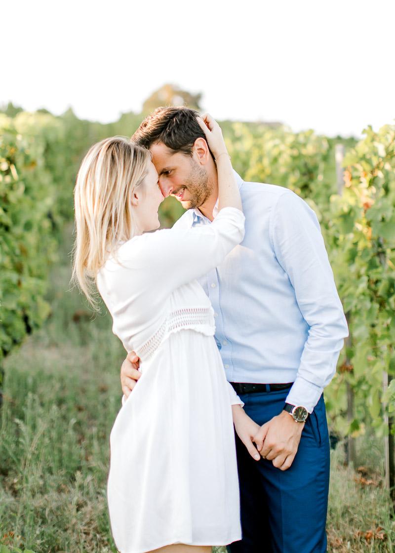 Photo lifestyle Fine Art - Couple engagement shooting