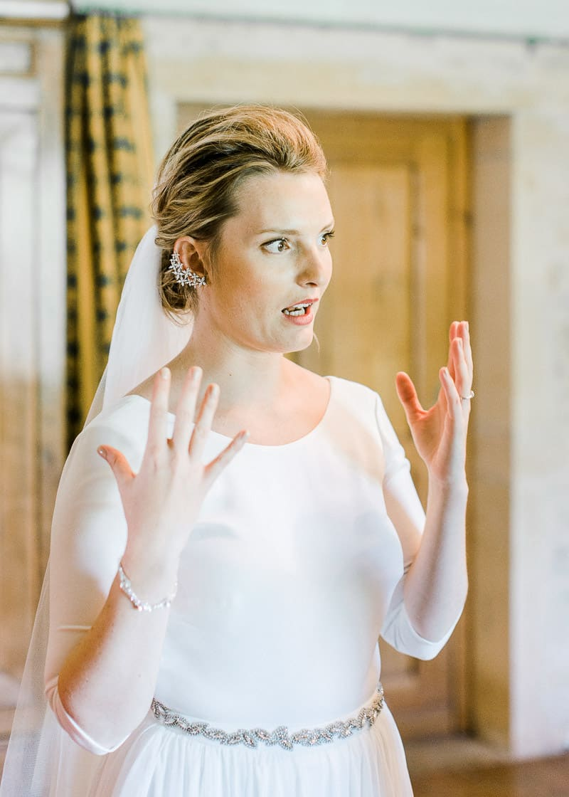 Etonnement de la mariée au château du sou