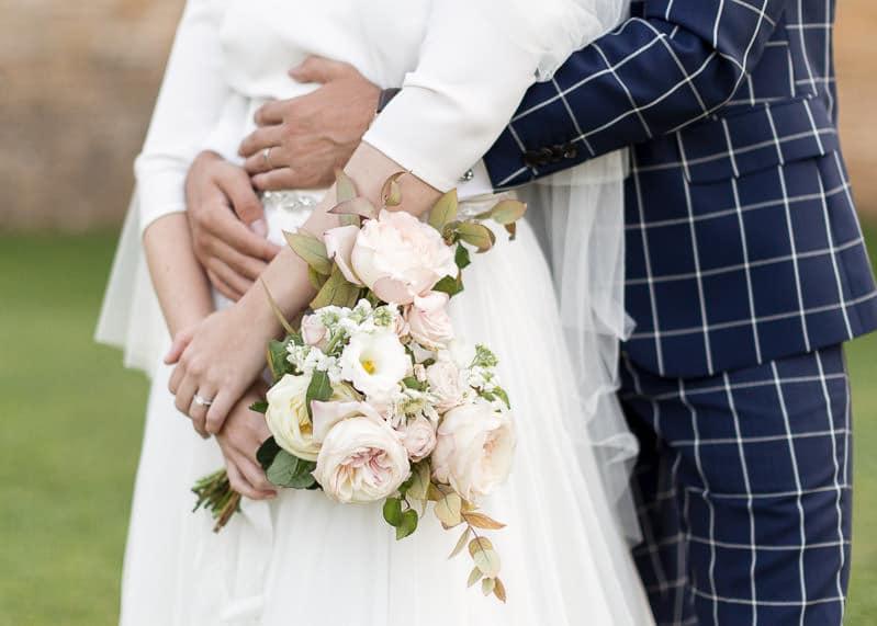 Le bouquet de la mariée fleur de fée au château du sou