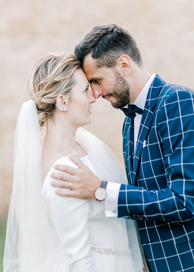 Couple mariage chateau du sou