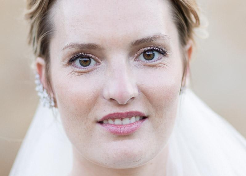 Portrait mariée chateau du sou