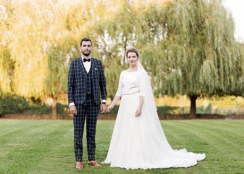Beau mariés au chateau du sou