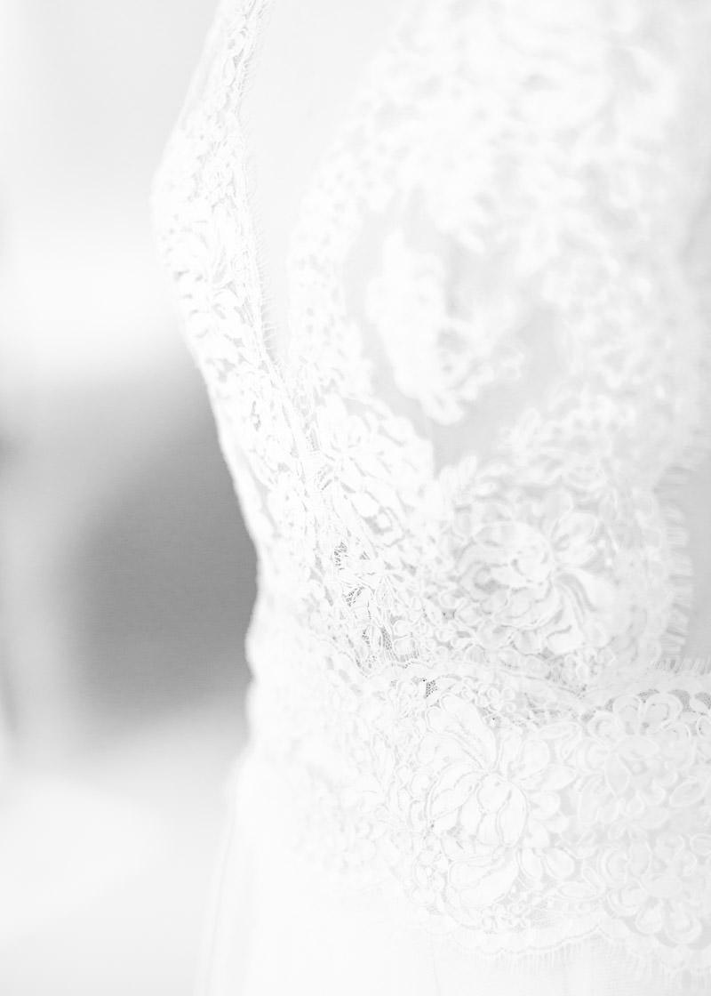 Dentelle robe de mariée au festival du mariage