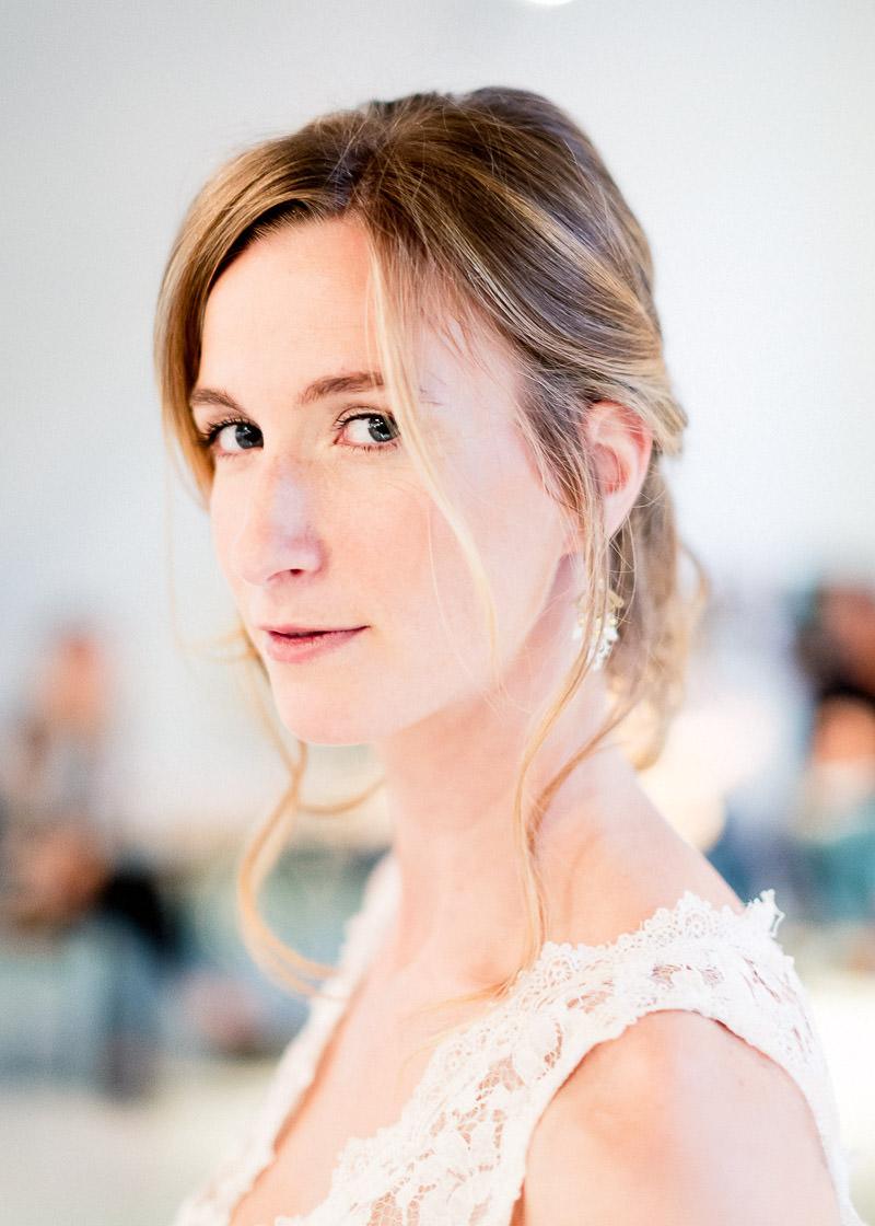 Portrait d'une mariée - Festival du mariage Lyon