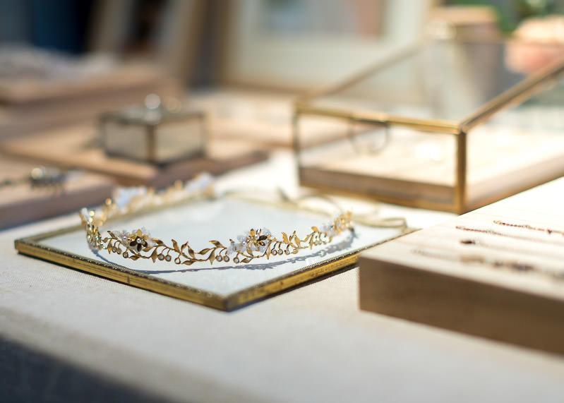 Bijoux pour mariée au festival du mariage à Lyon