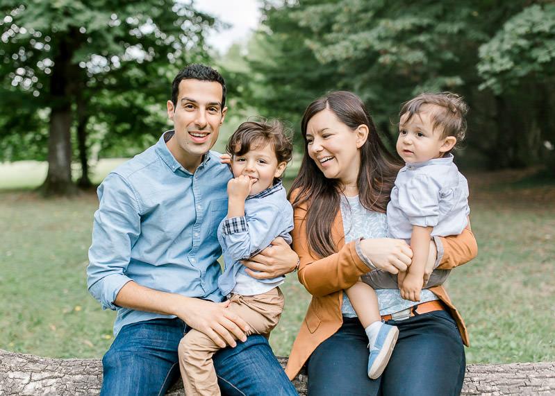 Séance photo famille. Photo de famille