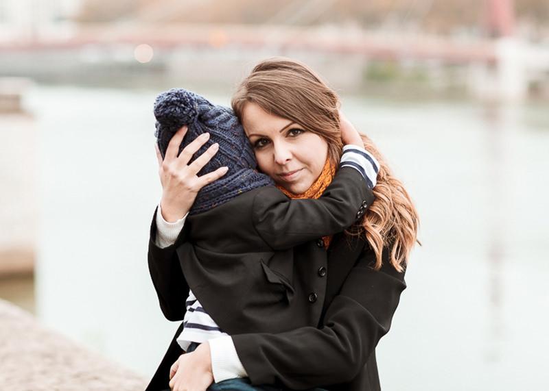 Photographe lifestyle Lyon - Complicité mère et fils