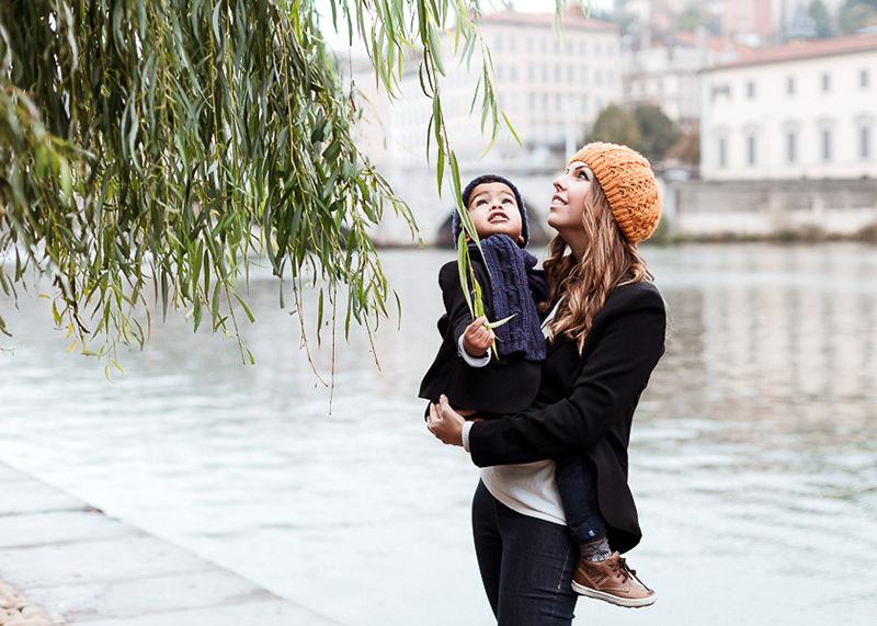 Photographe lifestyle Lyon - Verdure, arbre et jeux