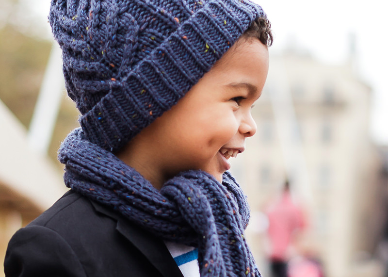 Photographe famille Lyon - Portrait d'enfant