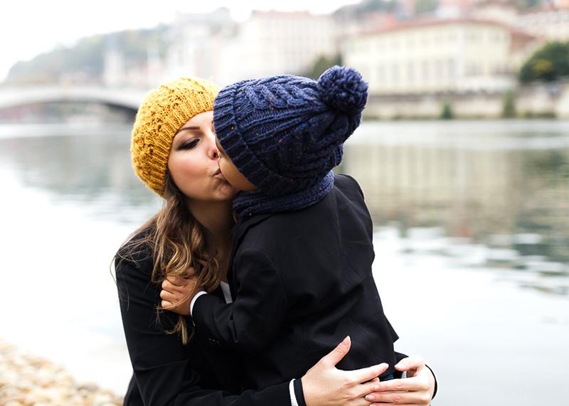 Photographe famille Lyon - Complicité mère et son fils
