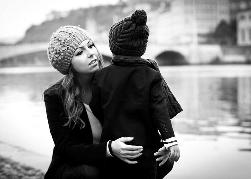 Photographe famille Lyon - Photo Noir et Blanc couple