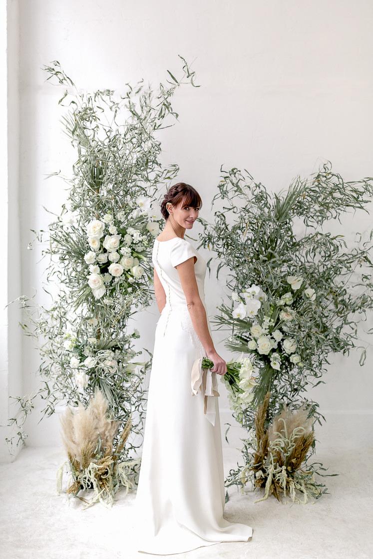 robe mariage vue de dos