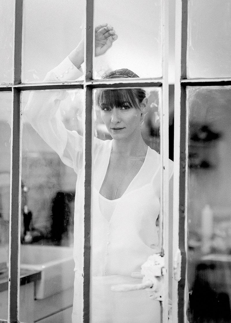 photo noir et blanc mariage