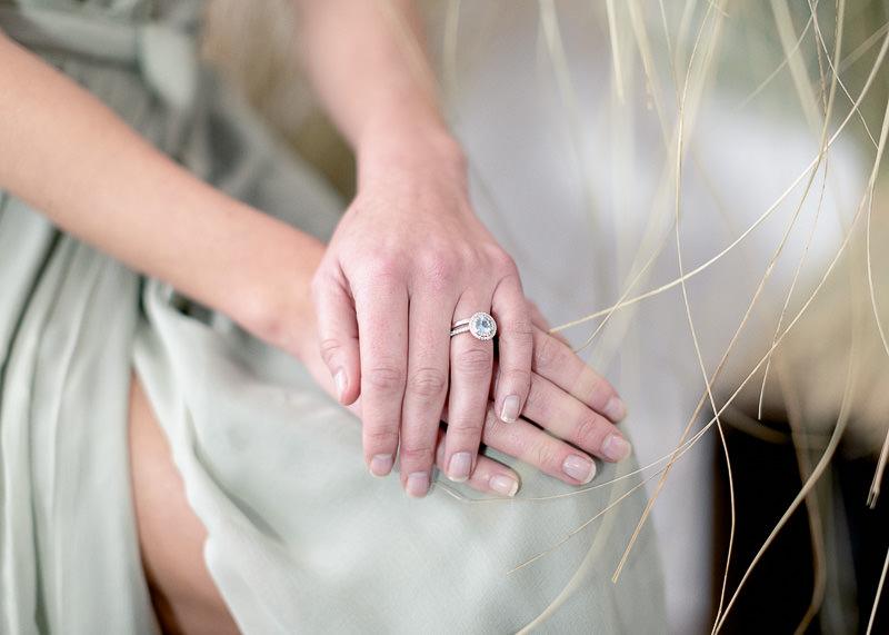 alliance diamant pour mariée