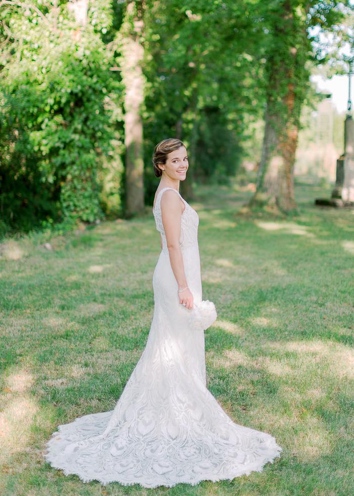 robe de marié fuseau
