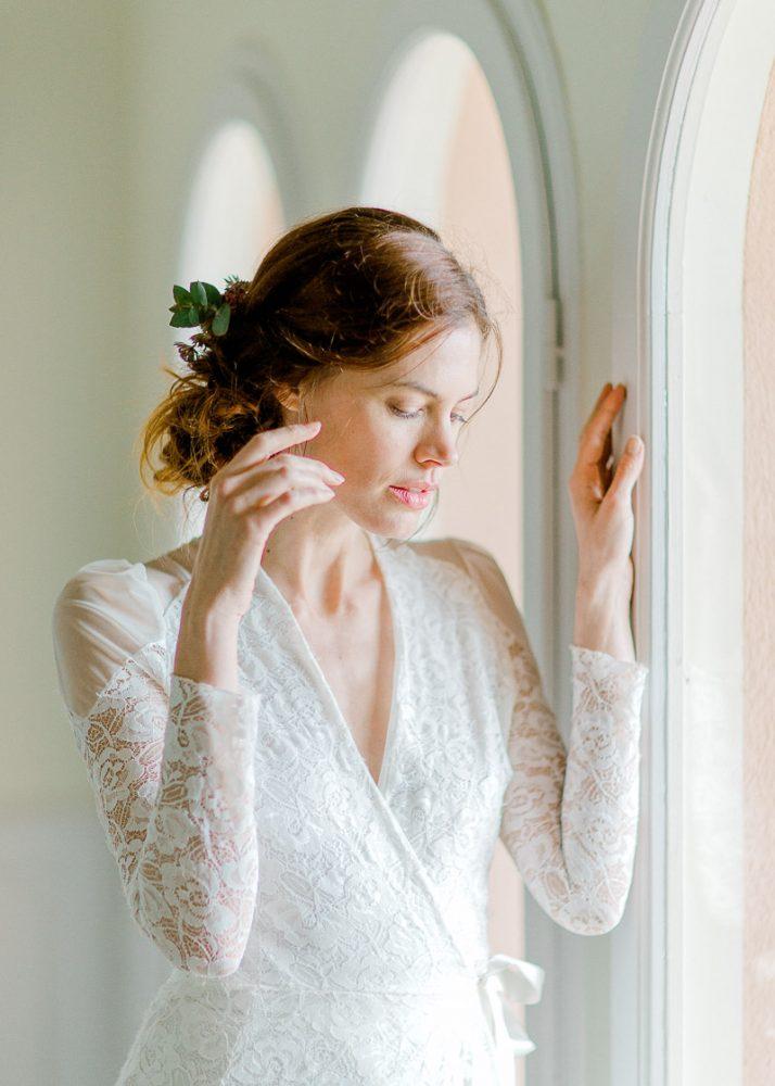 La mariée au château de l'Aumérade - Frederick Dewitte Photographe rhone