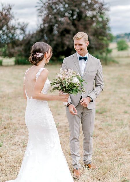 Découvert des mariés premier regard