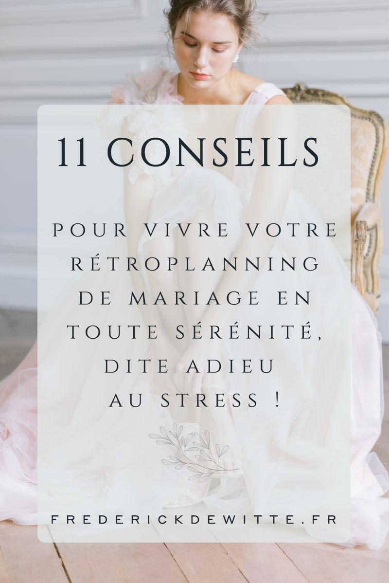 Vignette 11 conseil pour mariage sans stress