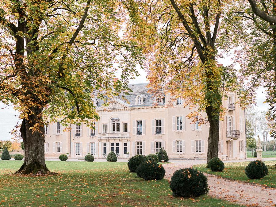 Château de Varenne en automne