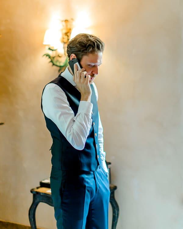 marié au téléphone
