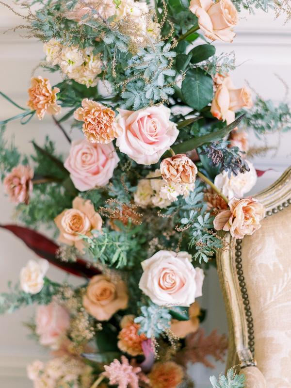 Composition floral pour mariage maisondautel