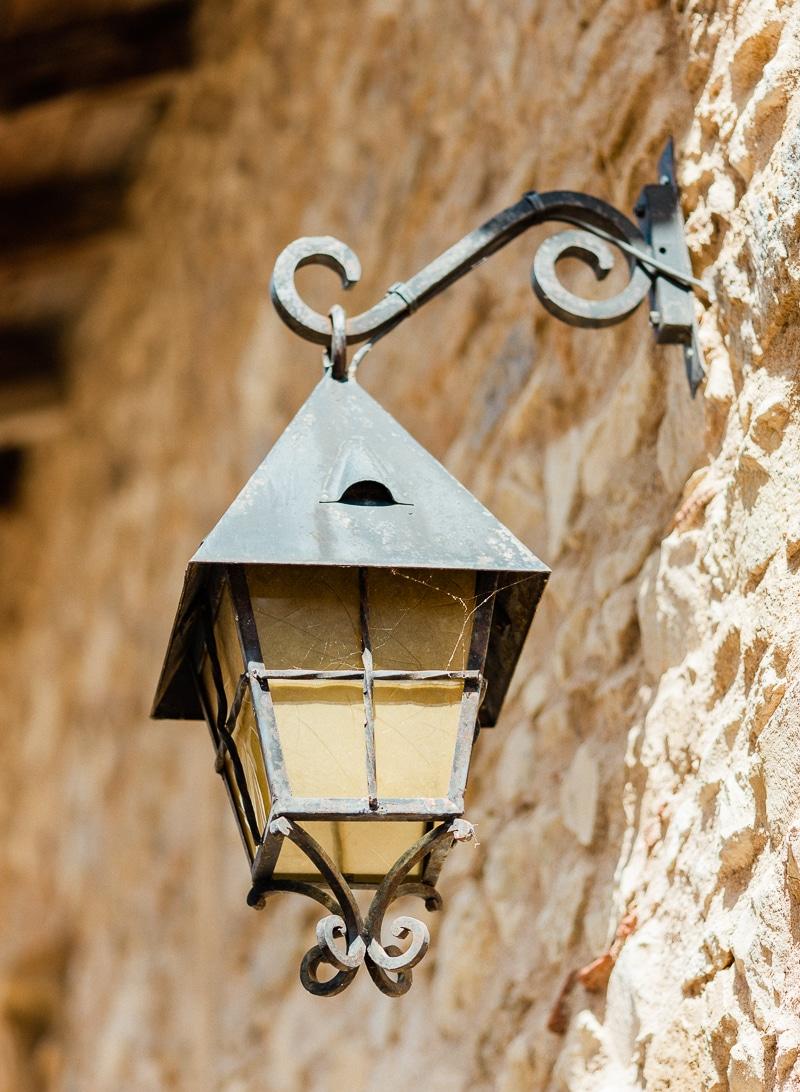 éclairage lanterne chateau du sou