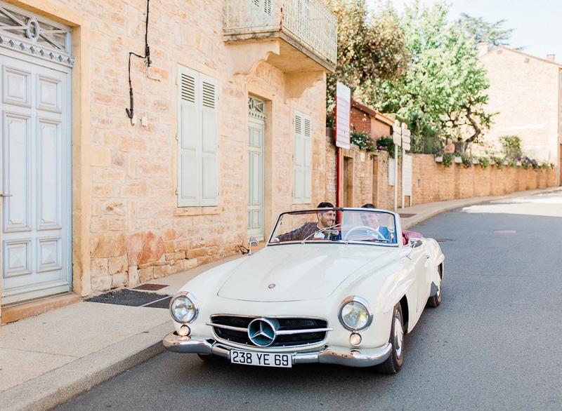 Ancienne voiture pour mariage
