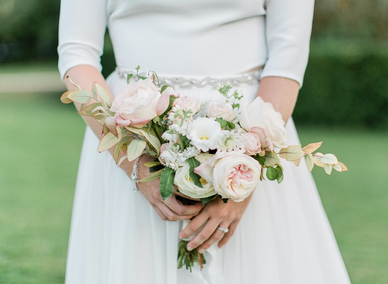 Bouquet mariée chateau du sou